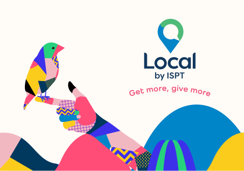 Get More, Give More with 'Local by ISPT'